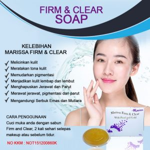 MARISSA FIRM AND CLEAR SOAP