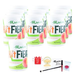MARISSA HITFIBRE HIGH FIBRE PEACH FLAVOURED DRINK X10