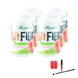 MARISSA HITFIBRE HIGH FIBRE PEACH FLAVOURED DRINK X6